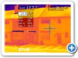 4 Thermal image of the existing building